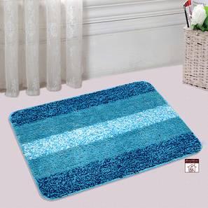 Sutton Bath Mat Set of 2 (Light Blue) by Urban Ladder - Design 1 Half View - 337512