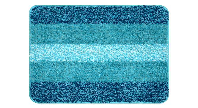 Sutton Bath Mat Set of 2 (Light Blue) by Urban Ladder - Front View Design 1 - 337523