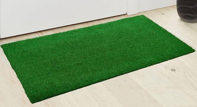 Zahra Door Mat (Green) by Urban Ladder - Design 1 Half View - 337599