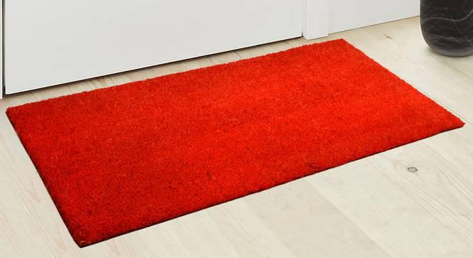Zahra Door Mat (Orange) by Urban Ladder - Design 1 Half View - 337600
