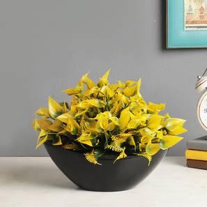 Meriall artificial plant black lp