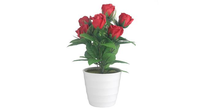 Zinnia Artificial Plant by Urban Ladder - Front View Design 1 - 338048
