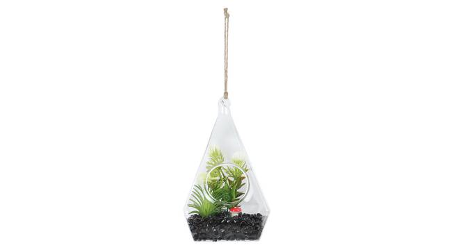 Aurora Artificial Plant With Pot (Green) by Urban Ladder - Front View Design 1 - 338108