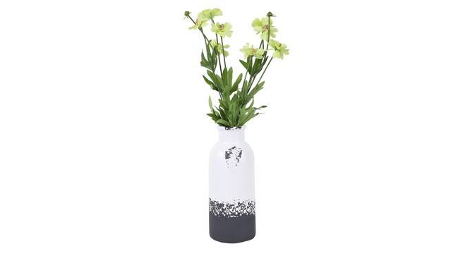 Dimiter Vase (White) by Urban Ladder - Front View Design 1 - 338117