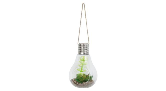 Emily Artificial Plant With Pot (Red) by Urban Ladder - Front View Design 1 - 338145
