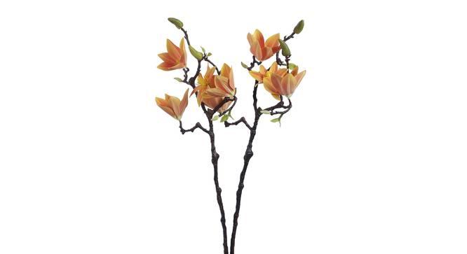 Rosa Artificial Flower (Orange) by Urban Ladder - Front View Design 1 - 338146