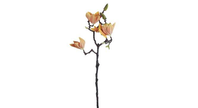 Rosa Artificial Flower (Orange) by Urban Ladder - Cross View Design 1 - 338157