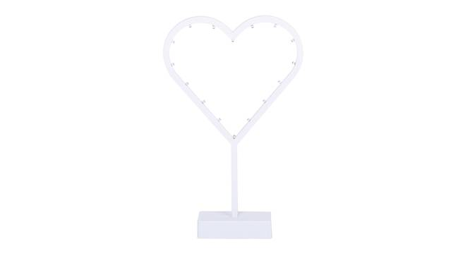 Irem Table Lamp (White Finish) by Urban Ladder - Front View Design 1 - 338158