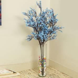 Garcia Artificial Flower (Blue) by Urban Ladder - Front View Design 1 - 338176