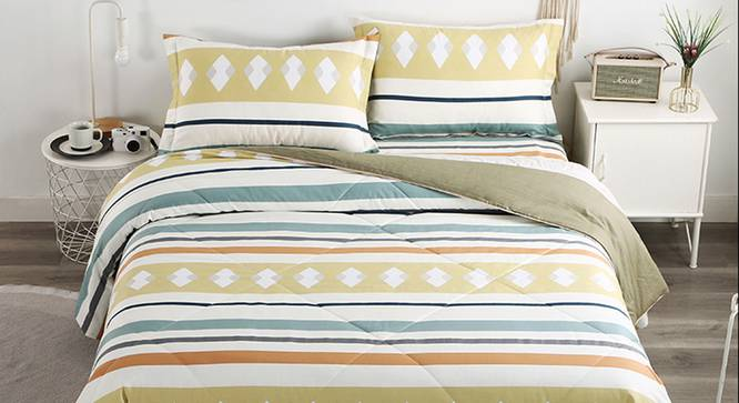 Florence BEDDING SET (Double Size) by Urban Ladder - Design 1 Full View - 338292