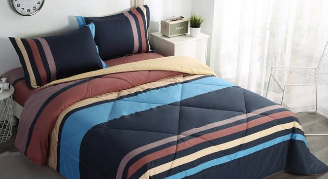 Felicity BEDDING SET (Double Size) by Urban Ladder - Cross View Design 1 - 338295