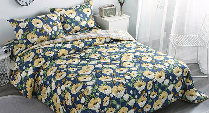 Frances BEDDING SET (Double Size) by Urban Ladder - Cross View Design 1 - 338298
