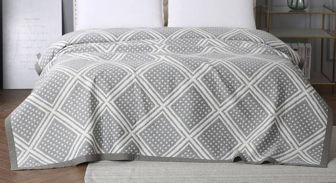 Salome Dohar (Grey, Double Size) by Urban Ladder - Design 1 Full View - 338342