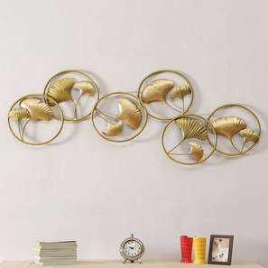 Fiza Wall Decor (Gold) by Urban Ladder - Front View Design 1 - 338472