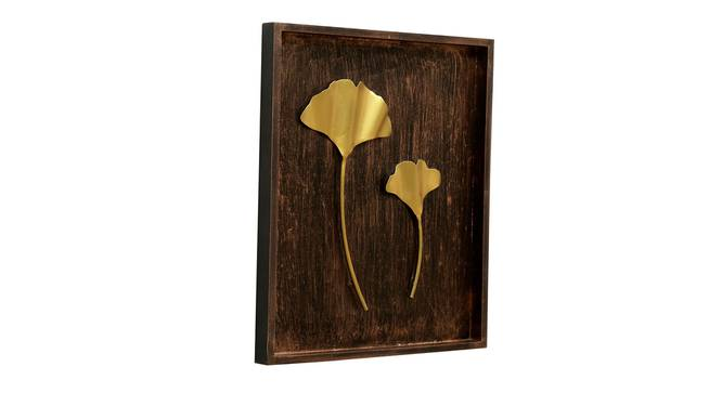 Lavya Ginko Leaf Wall Decor (Gold) by Urban Ladder - Front View Design 1 - 338519