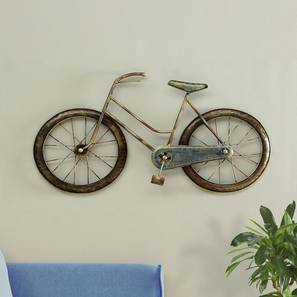 Hiba Cycle Wall Decor by Urban Ladder - Front View Design 1 - 338511