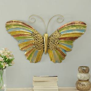 Inaya Butterfly Wall Decor by Urban Ladder - Front View Design 1 - 338514