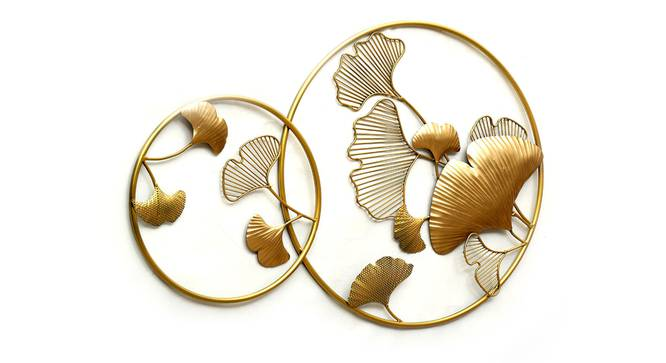 Sadh Ginko Wall Decor (Gold) by Urban Ladder - Front View Design 1 - 338608