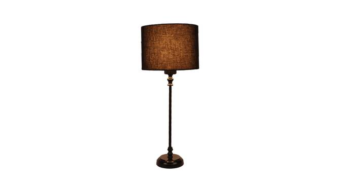 Elodie Table Lamp (Black, Black Shade Colour) by Urban Ladder - Front View Design 1 - 338694