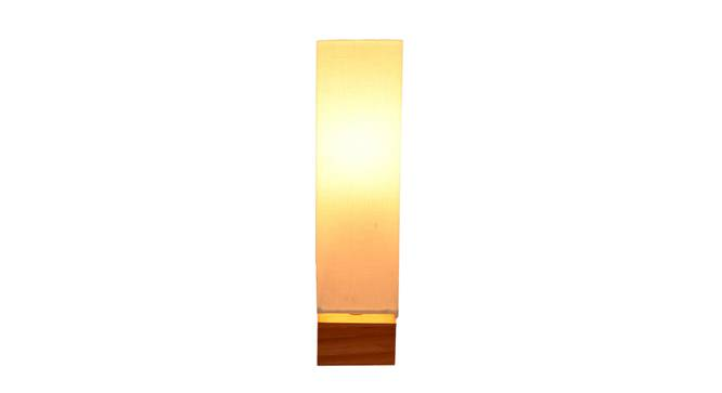 Orion Table Lamp (Natural, White Shade Colour) by Urban Ladder - Front View Design 1 - 338737