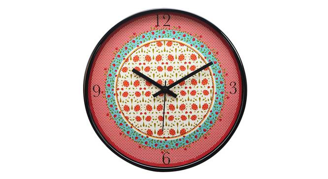 Floral BlissWall Clock by Urban Ladder - Front View Design 1 - 338790