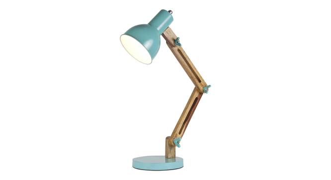 Auro Study  Table Lamp (Mango Wood Finish) by Urban Ladder - Front View Design 1 - 338879