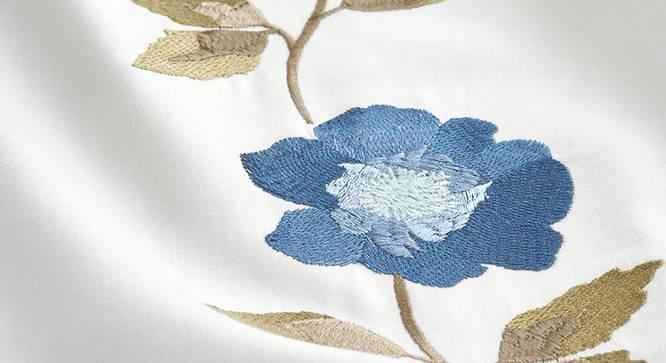 Hetty Bedsheet Set (Cobalt, King Size) by Urban Ladder - Design 1 Close View - 339004