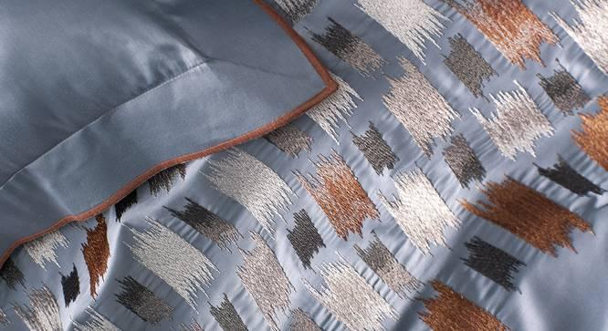 Itzel Bedsheet Set (Blue, King Size) by Urban Ladder - Design 1 Close View - 339009