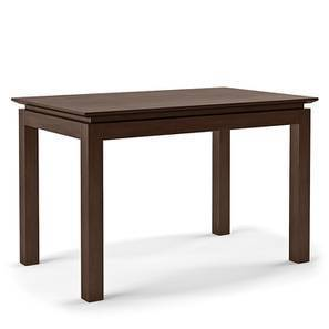 Diner 4 Seater Dining Table (Dark Walnut Finish) by Urban Ladder - Design 1 Full View - 339144