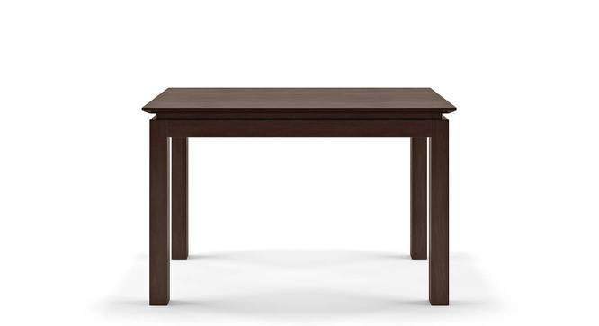 Diner 4 Seater Dining Table (Dark Walnut Finish) by Urban Ladder - Front View Design 1 - 339145