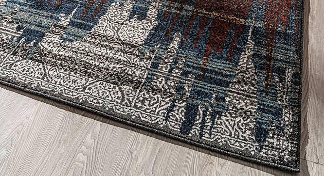 "Austin Carpet (Brown, Rectangle Carpet Shape, 285 x 201 cm (112"" x 79"") Carpet Size) by Urban Ladder - Design 1 Half View - 339202"