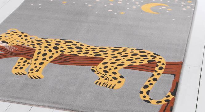 """Canvas Carpet (Yellow, Rectangle Carpet Shape, 122 x 183 cm  (48"""" x 72"""") Carpet Size) by Urban Ladder - Design 1 Close View - 339263"""