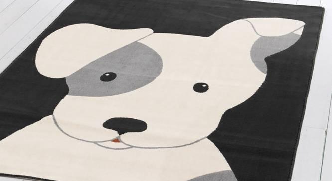 """Canvas Carpet (White, Rectangle Carpet Shape, 122 x 183 cm  (48"""" x 72"""") Carpet Size) by Urban Ladder - Design 1 Close View - 339264"""