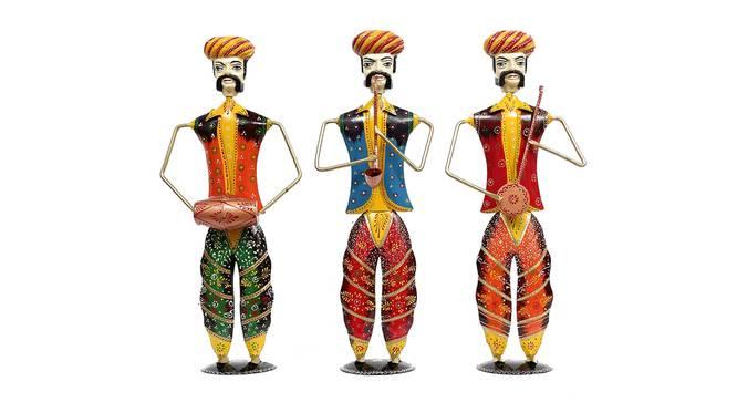 Chitaksh Figurine Set of 3 by Urban Ladder - Front View Design 1 - 339441