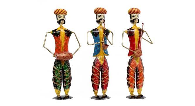 Chitaksh Figurine Set of 3 by Urban Ladder - Cross View Design 1 - 339453