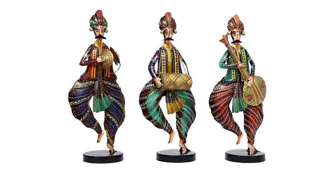 Devansh Figurine Set of 3 by Urban Ladder - Cross View Design 1 - 339456