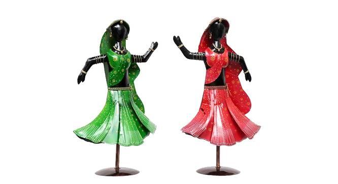 Divit Figurine Set of 2 by Urban Ladder - Cross View Design 1 - 339459