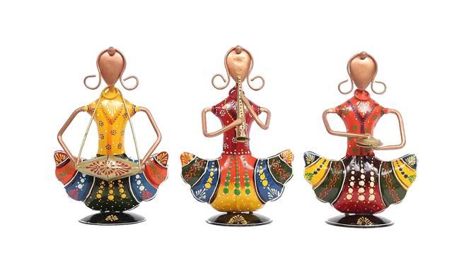 Gatik Figurine Set of 3 by Urban Ladder - Front View Design 1 - 339516