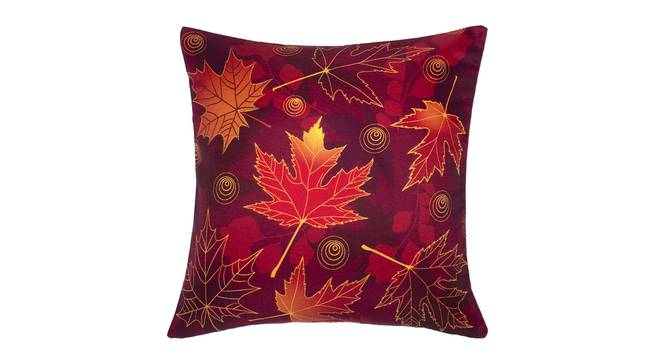 """Danica Cushion Cover - Set of 2 (Red, 41 x 41 cm  (16"""" X 16"""") Cushion Size) by Urban Ladder - Front View Design 1 - 339827"""