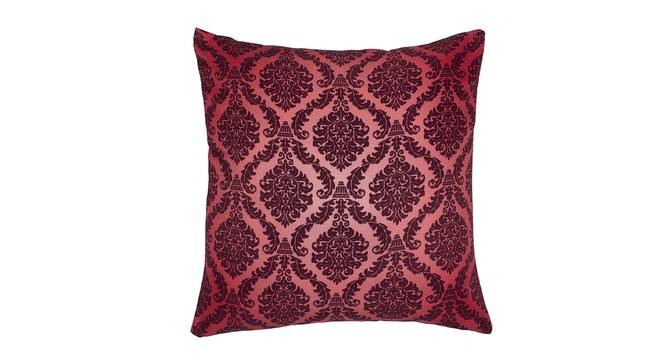 """Alita Cushion Cover - Set of 2 (Brown, 41 x 41 cm  (16"""" X 16"""") Cushion Size) by Urban Ladder - Front View Design 1 - 339864"""