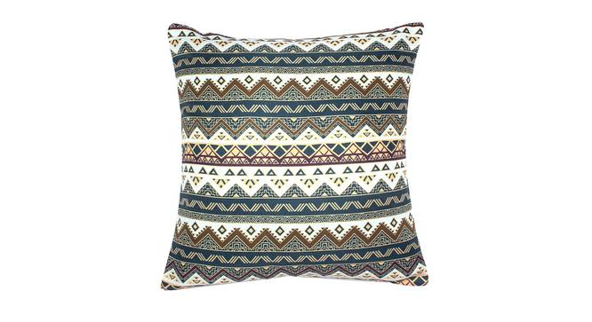 """Sheena Cushion Cover - Set of 2 (Green, 41 x 41 cm  (16"""" X 16"""") Cushion Size) by Urban Ladder - Front View Design 1 - 340160"""