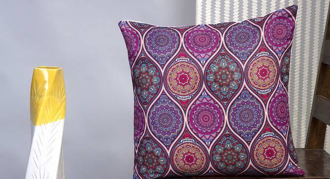 "Valeska Cushion Cover - Set of 2 (41 x 41 cm  (16"" X 16"") Cushion Size) by Urban Ladder - Design 1 Half View - 340191"