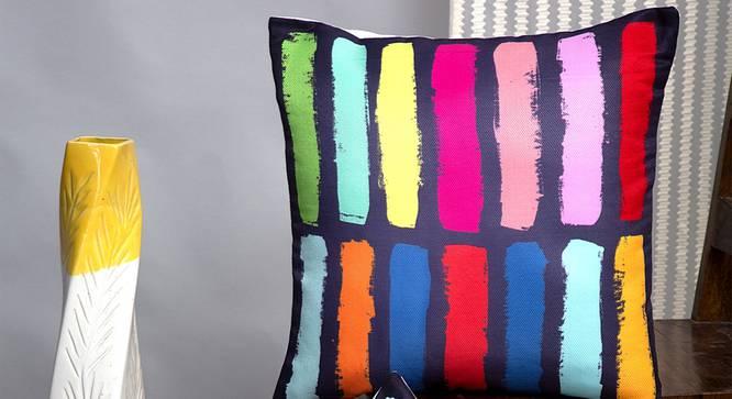 "Zarek Cushion Cover - Set of 2 (30 x 46 cm  (12"" X 18"") Cushion Size) by Urban Ladder - Design 1 Half View - 340194"