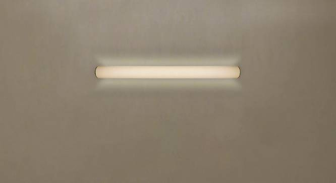 Frost Wall Light (White, White Shade Colour, Cotton Shade Material) by Urban Ladder - Design 1 Half View - 340361