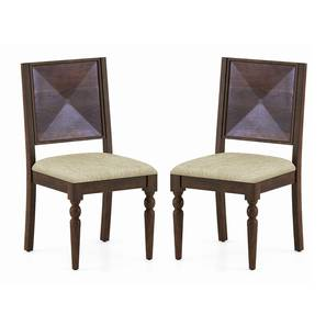 Mirasa Dining Chair - Set of 2 (Sandstorm) by Urban Ladder - Full View - 340389