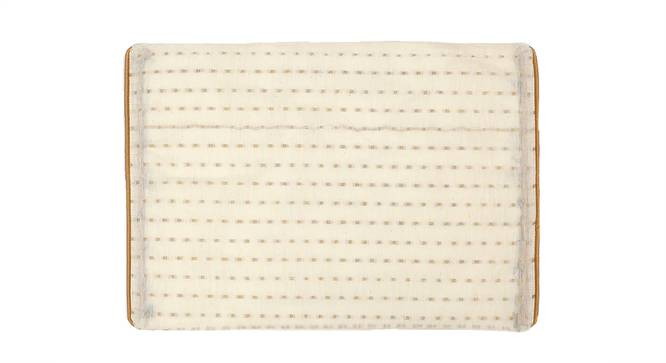 Bindu Table Mat (Gold) by Urban Ladder - Front View Design 1 - 340532