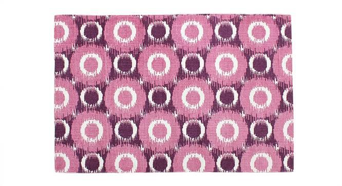 Endek Door Mat (Purple) by Urban Ladder - Design 1 Close View - 340536