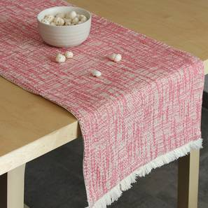 Mamoon Table Runner (Pink) by Urban Ladder - Front View Design 1 - 340563