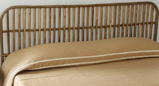 Mrittika Bedding Set (Beige, Queen Size) by Urban Ladder - Front View Design 1 - 340554