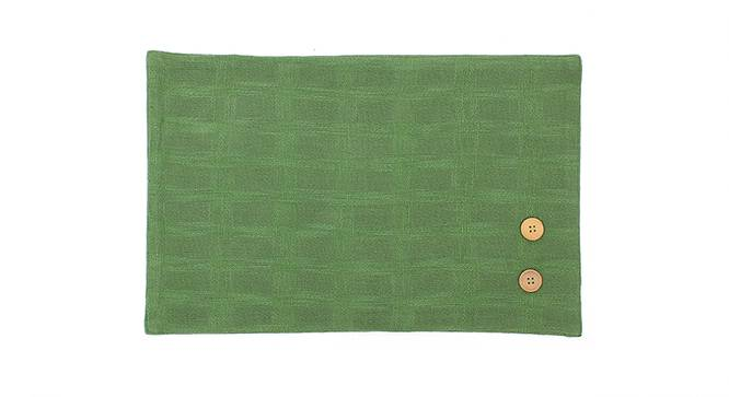 Paccha Table Mat (Green) by Urban Ladder - Front View Design 1 - 340594